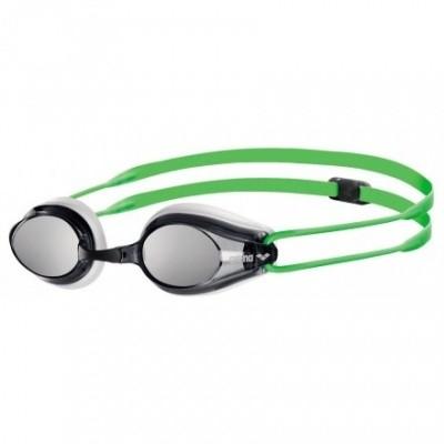Foto van Arena zwembril Tracks Mirror Groen