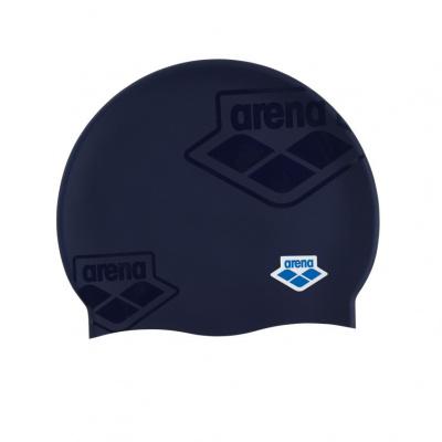 Foto van Arena badmuts Icons Team Stripe assorti blauw
