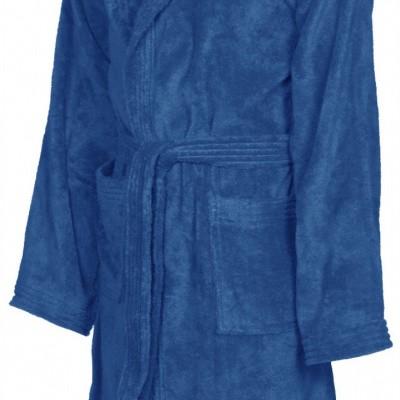 Foto van Arena badjas soft robe royal-white