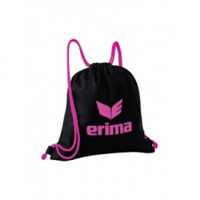 Foto van Erima rugtas Gym Sack Pro black/pink