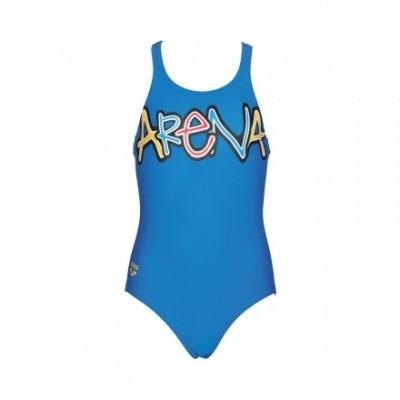 Foto van Arena meisjes badpak Sparkle Blue