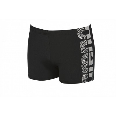 Foto van Arena heren short Equilbrium black-white