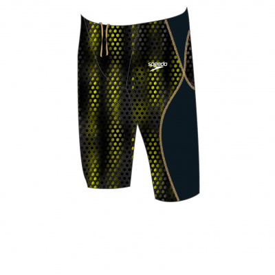 Foto van Speedo LZR Racer X Jammer black/fluo yellow/rose gold