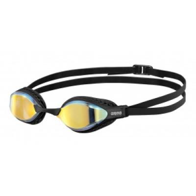 Foto van Arena zwembril Airspeed Mirror yellow-copper-black