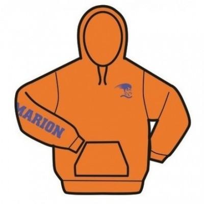 Foto van Gildan hooded sweater Zonder rits Masters Nederland