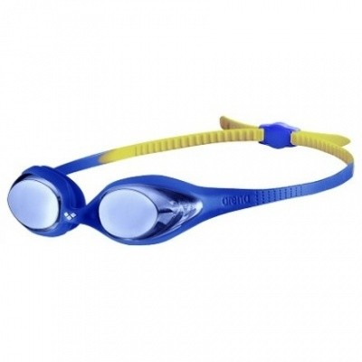 Foto van Arena junior zwembril Spider mirror blue-blue-yellow