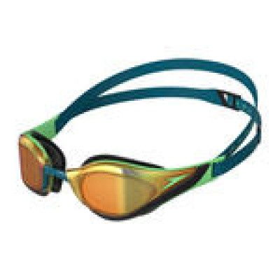 Foto van Speedo Zwembril Pure Focus Mirror green/gold