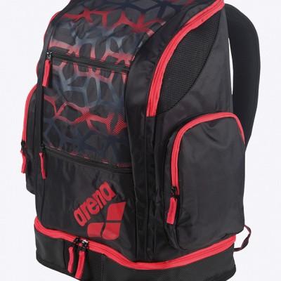 Foto van Arena Spiky 2 Large Rugtas Spider zwart/rood