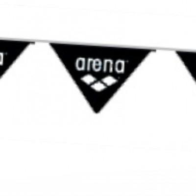 Foto van Arena vlaggenlijn zwart of wit