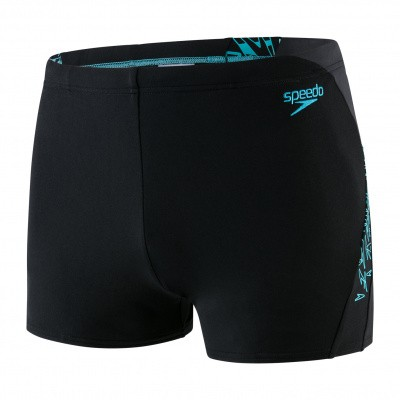 Foto van Speedo heren Aquashort Boom Splice black