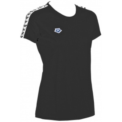 Foto van Arena T-shirt Team black-white