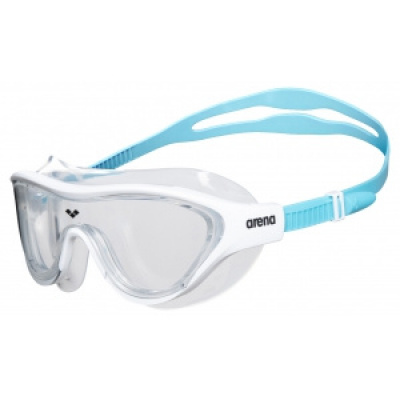Foto van Arena zwembril The One Mask JR clear blue