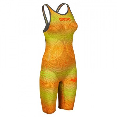 Foto van Arena Powerskin Carbon Air2 OB Limited Edition psyco lime-orange