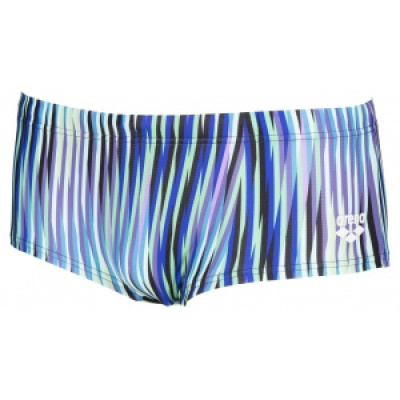 Foto van Arena Speed Stripes Low waist Short black-multi-green