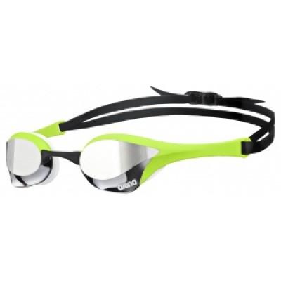 Foto van Arena zwembril Cobra Ultra Mirror silver/green/white