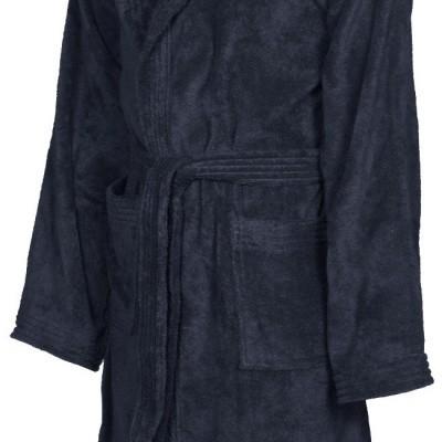 Foto van Arena badjas soft robe navy-white