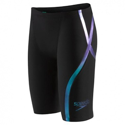 Foto van Speedo LZR Racer X high waist jammer black/blue