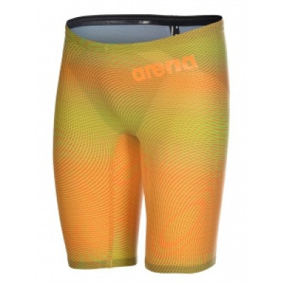 Foto van Arena Powerskin Carbon Air2 Jammer Limited lime orange