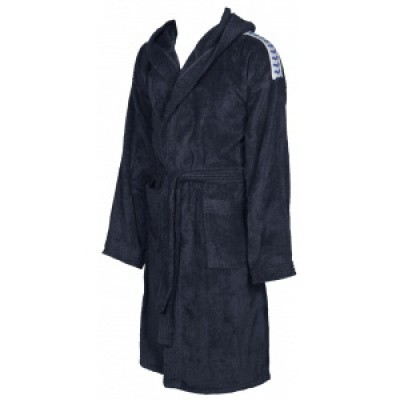 Foto van Arena badjas core soft robe navy-white