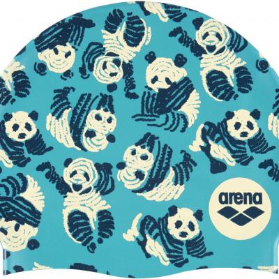 Foto van Arena badmuts silicone Print 2 Panda