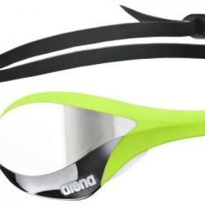 Foto van Arena zwembril Cobra Ultra Mirror silver/green/white