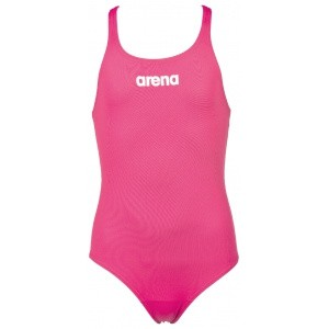 Arena meisjesbadpak Solid Swim Pro roze