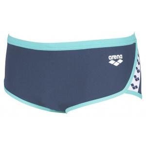 Arena Team Stripe low waist navy-mint