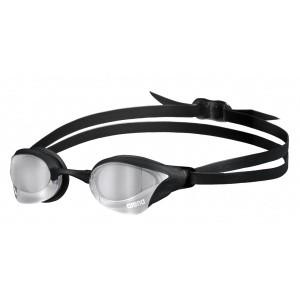 Arena zwembril Cobra Core Swipe mirror silver-black
