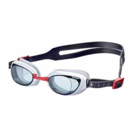 Speedo zwembril Aquapure red/smoke