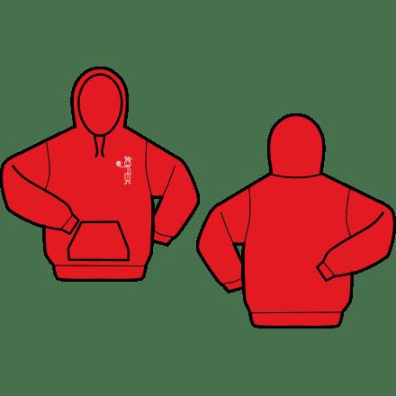 Gildan hooded sweater Waterpolo Afbeelding