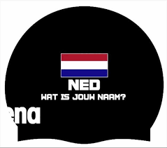 Arena badmuts Moulded Silicone Cap NED + NAAM