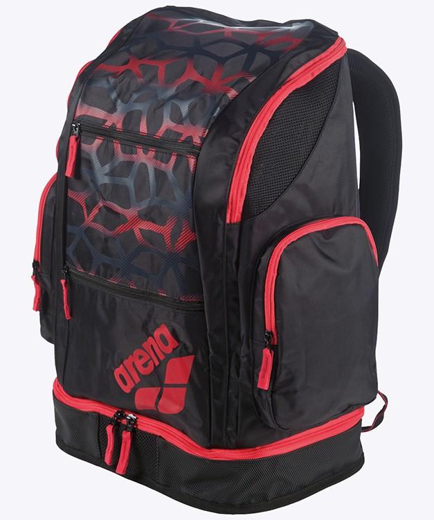 Arena Spiky 2 Large Rugtas Spider zwart/rood