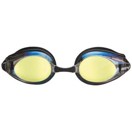 Arena zwembril Tracks Mirror gold-black-black