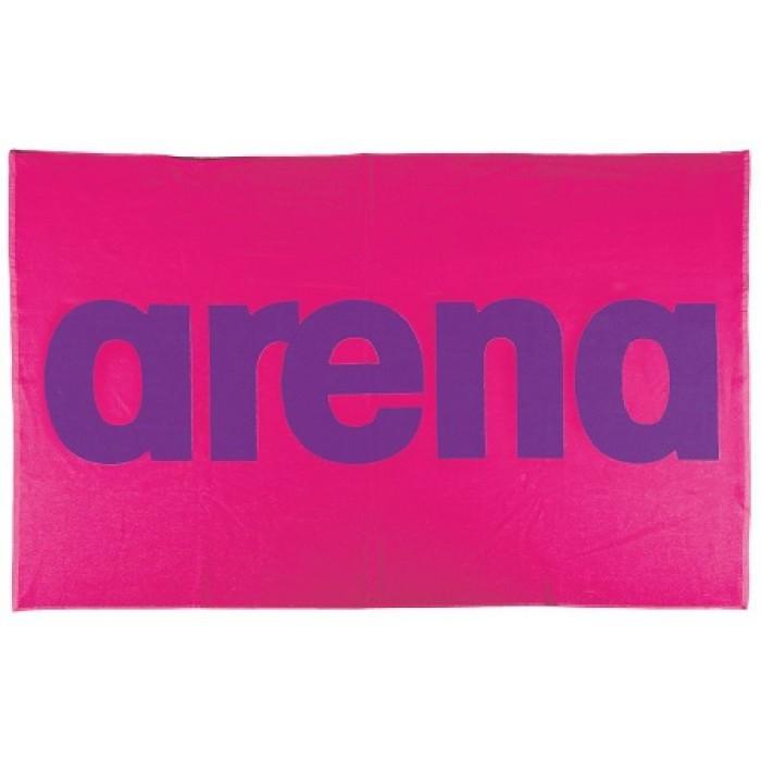 Arena Handdoek roze en geel