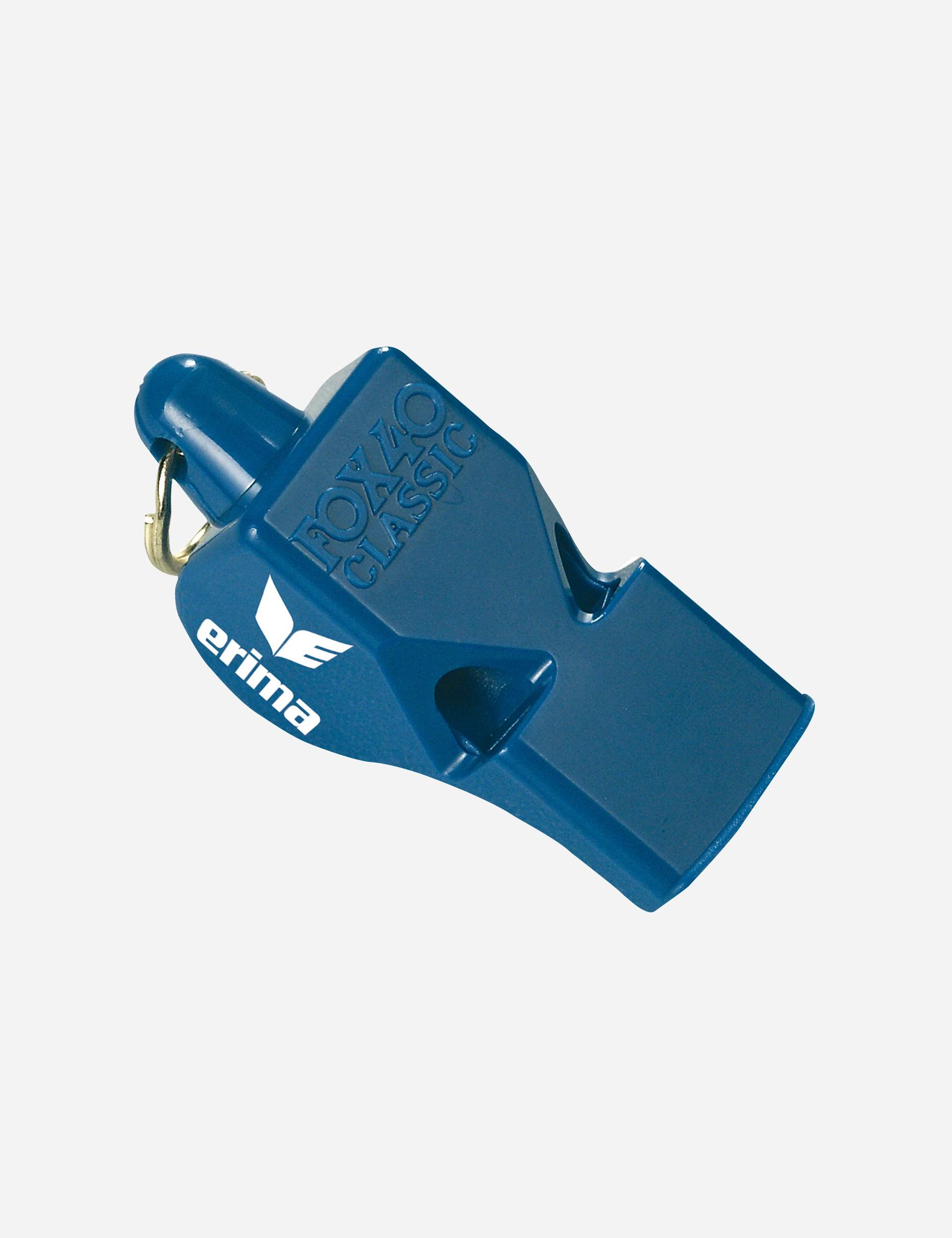 Erima scheidsrechtersfluit Fox 40 Royal blauw