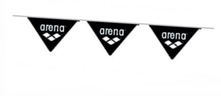 Arena vlaggenlijn zwart of wit