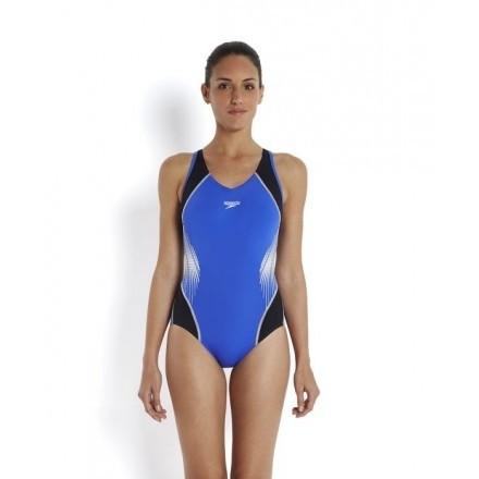 Speedo damesbadpak Fit Splice Muscleback Body Position