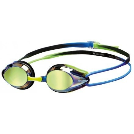 Arena zwembril Tracks Mirror blue-blue-green
