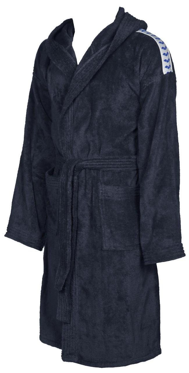 Arena badjas soft robe navy-white