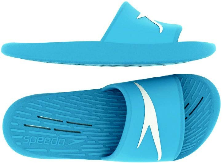Speedo badslipper Slide JR Blue
