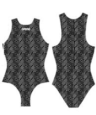 Arena Waterpolobadpak Kikko black multi