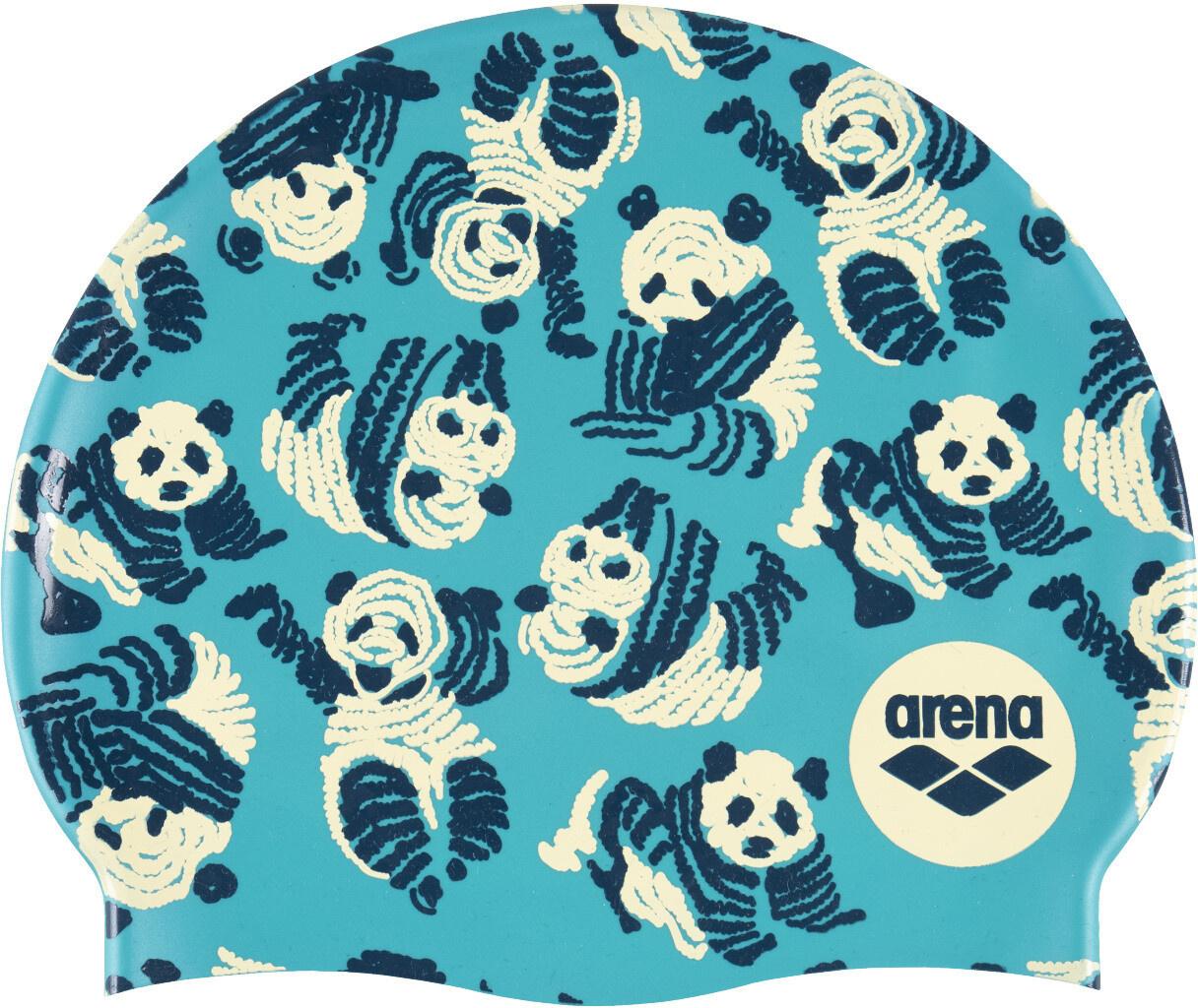 Arena badmuts silicone Print 2 Panda