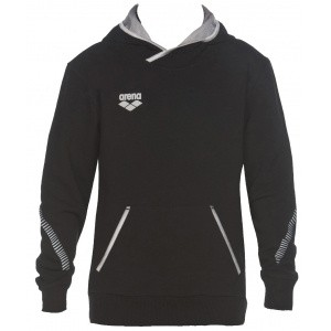 Arena hoodie hooded sweater zwart