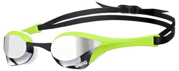 Arena zwembril Cobra Ultra Mirror silver/green/white