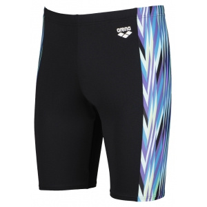 Arena heren jammer Speed Stripes black-multi-green