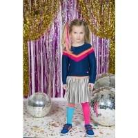 Foto van Kidzart velvet plisse skirt