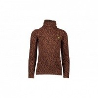 Foto van Flo animal jersey rollneck