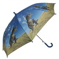 Foto van paraplu dinosaurus