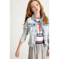 Foto van Garcia Chiara Slim Denim Jacket
