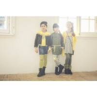 Foto van B-Nosy Stripe legging with Knee Print
